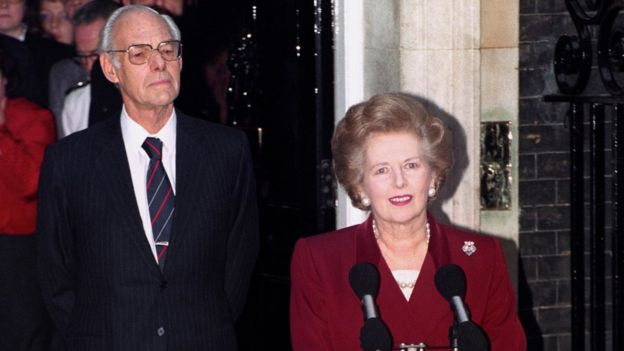 Thatcher Resign