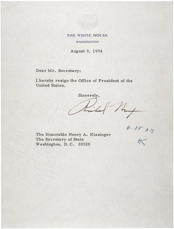 Nixon Letter