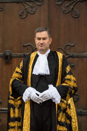 Lord Chancellor swearing-in ceremony