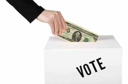 Image result for money election