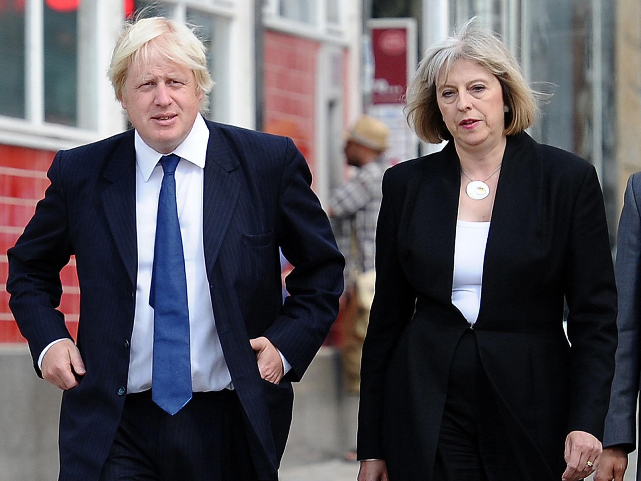 Boris and Theresa