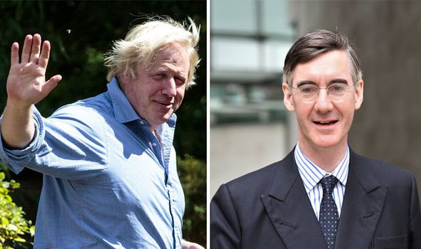 Johnson and Mogg